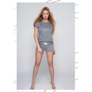 Пижама женская NLP-AUGUSTINA Серый Sensis